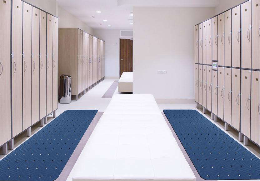 feuchtraum matte wet step von textile mietservice hiller. Black Bedroom Furniture Sets. Home Design Ideas
