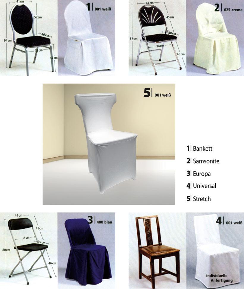 unser stuhl hussen in verschiedenen farben passen auf. Black Bedroom Furniture Sets. Home Design Ideas
